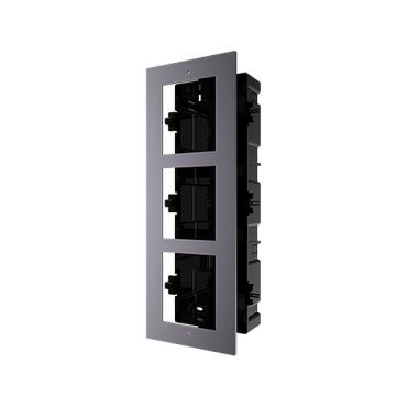 Rahmen für 3 Intercom 2.0 Video - DS-KD-ACF3/PLASTIC