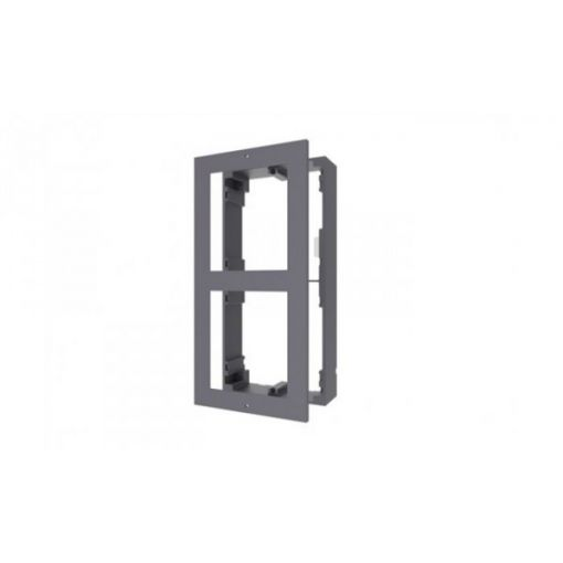 Metallrahmen für 2 Intercom 2.0 Video - DS-KD-ACW2