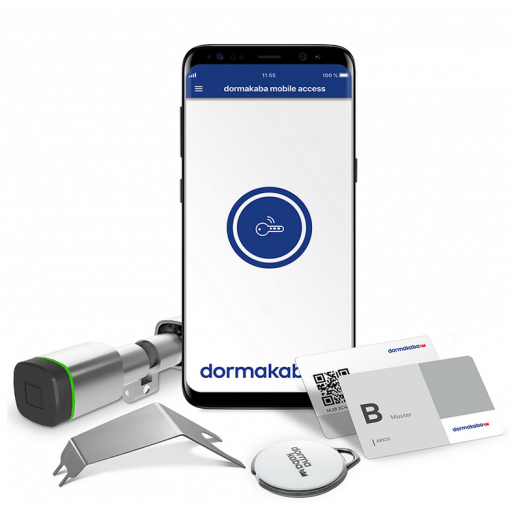 dormakaba evolo SMART SET, Digitalzylinder BLE