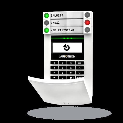 JA-100 Funk-Zugangsmodul mit Tastatur, Display  und RFID- Lesegerät