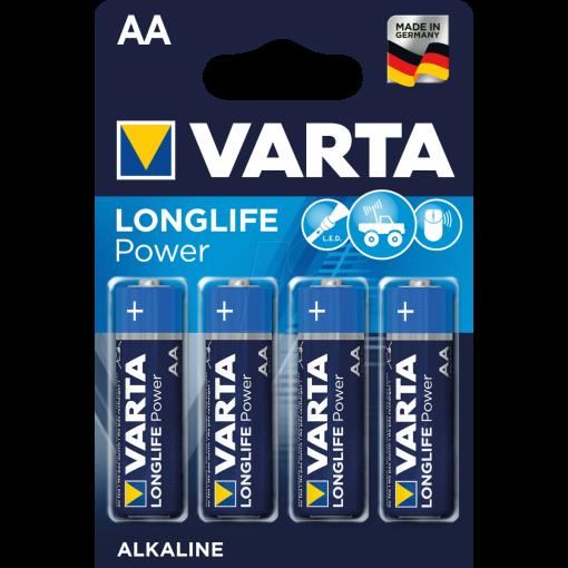 VARTA Batterie Mignon 1,5V - AA - (4906) 4er Blister